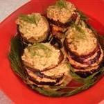 Как приготовить баклажаны. Баклажаны резанные с орехами (3 вариант).