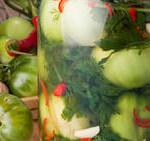 помидоры зеленые соленые